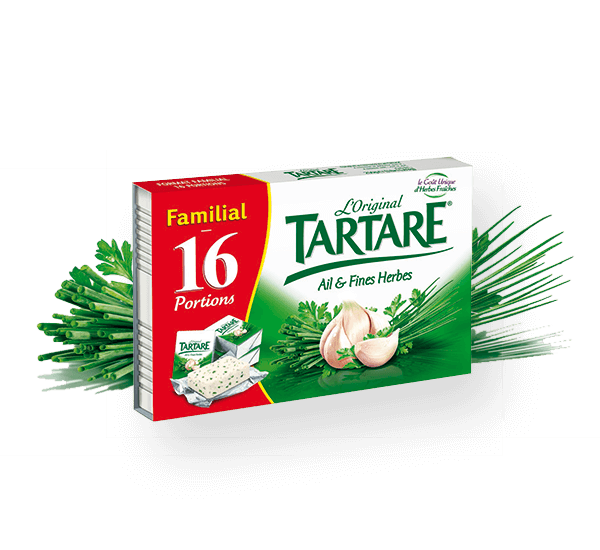 Tartare ail fines herbes 16 portions 250g