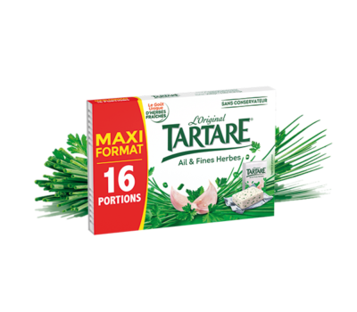 Tartare® Ail & Fines Herbes 16 portions 250g