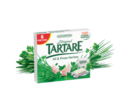Tartare® Ail & Fines Herbes 6 portions